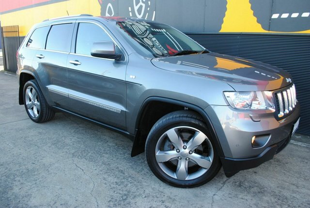 Used Jeep Grand Cherokee WK MY2012 Overland, 2012 Jeep Grand Cherokee WK MY2012 Overland Mineral Grey 5 Speed Sports Automatic Wagon