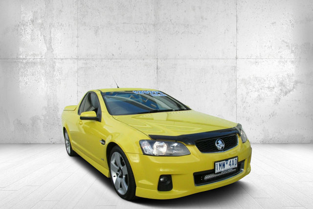 Used Holden Ute VE II MY12 SV6, 2011 Holden Ute VE II MY12 SV6 Yellow 6 Speed Sports Automatic Utility