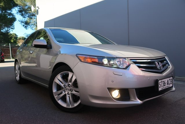Used Honda Accord Euro CU MY11 Luxury Navi, 2010 Honda Accord Euro CU MY11 Luxury Navi Silver 5 Speed Automatic Sedan