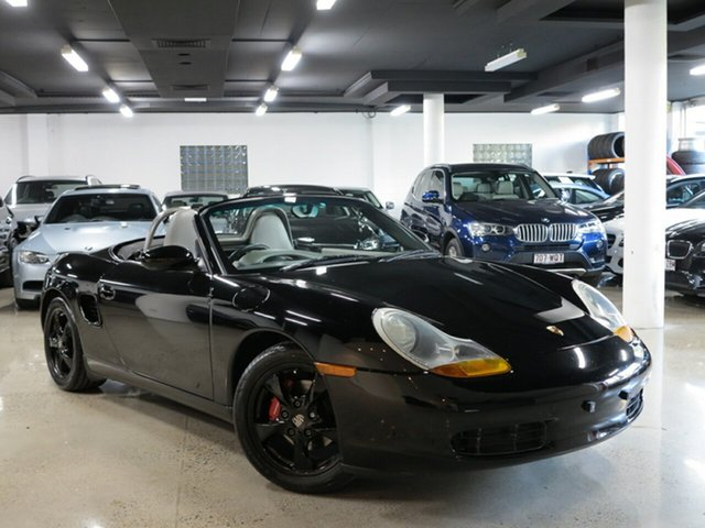 Used Porsche Boxster 986 MY00 , 2000 Porsche Boxster 986 MY00 Black 5 Speed Sports Automatic Convertible
