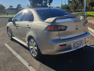 2012 Mitsubishi Lancer CJ MY12 VR-X Silver 6 Speed Constant Variable Sedan