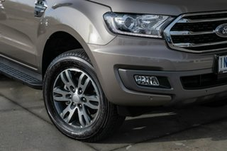 2018 Ford Everest UA II 2019.00MY Trend 4WD Silver 6 Speed Sports Automatic Wagon