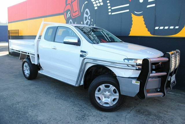 Used Ford Ranger PX MkII XLT Super Cab, 2015 Ford Ranger PX MkII XLT Super Cab Cool White 6 Speed Manual Utility