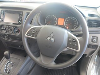 2018 Mitsubishi Triton MQ MY18 GLX (4x4) Sterling Silver 5 Speed Automatic Dual Cab Chassis