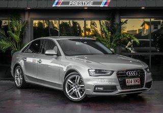 2014 Audi A4 B8 (8K) MY14 1.8 TFSI Silver 8 Speed CVT Multitronic Sedan.