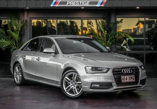 Used Audi A4 B8 (8K) MY14 1.8 TFSI, 2014 Audi A4 B8 (8K) MY14 1.8 TFSI Silver 8 Speed CVT Multitronic Sedan