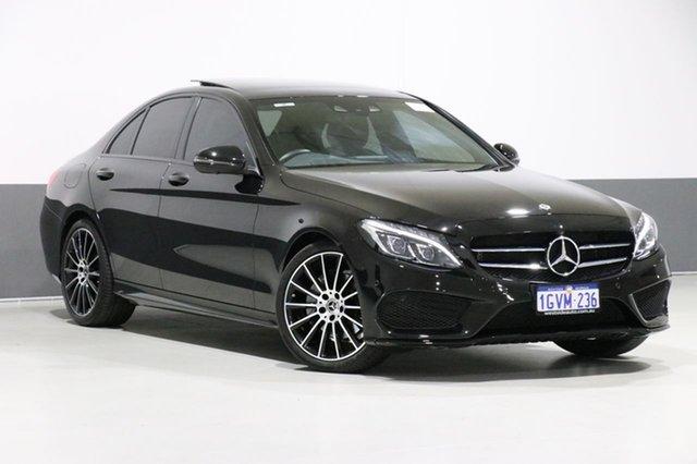 Used Mercedes-Benz C220 205 MY17.5 D Sport Edition, 2017 Mercedes-Benz C220 205 MY17.5 D Sport Edition Black 9 Speed Automatic G-Tronic Sedan