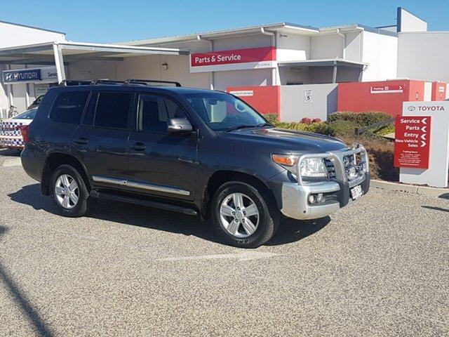 Used Toyota Landcruiser VDJ200R MY12 Sahara (4x4), 2012 Toyota Landcruiser VDJ200R MY12 Sahara (4x4) Graphite 6 Speed Automatic Wagon