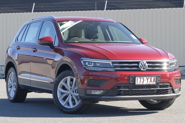 Demo Volkswagen Tiguan 5N MY19 132TSI DSG 4MOTION Comfortline, 2018 Volkswagen Tiguan 5N MY19 132TSI DSG 4MOTION Comfortline Ruby Red 7 Speed