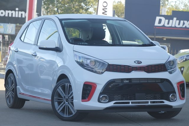 Used Kia Picanto JA MY19 GT, 2019 Kia Picanto JA MY19 GT Clear White 5 Speed Manual Hatchback