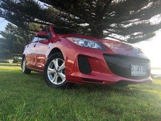 2013 Mazda 3 BL10F2 MY13 Neo Activematic Velocity Red 5 Speed Sports Automatic Sedan.