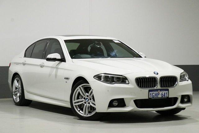 Used BMW 535d F10 MY14 Upgrade Luxury Line, 2014 BMW 535d F10 MY14 Upgrade Luxury Line White 8 Speed Automatic Sedan