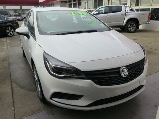 New Holden Astra BK MY19 R, 2019 Holden Astra BK MY19 R Summit White 6 Speed Sports Automatic Hatchback