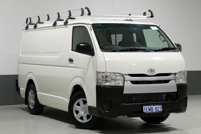 Used Toyota HiAce TRH201R MY14 LWB, 2014 Toyota HiAce TRH201R MY14 LWB White 5 Speed Manual Van