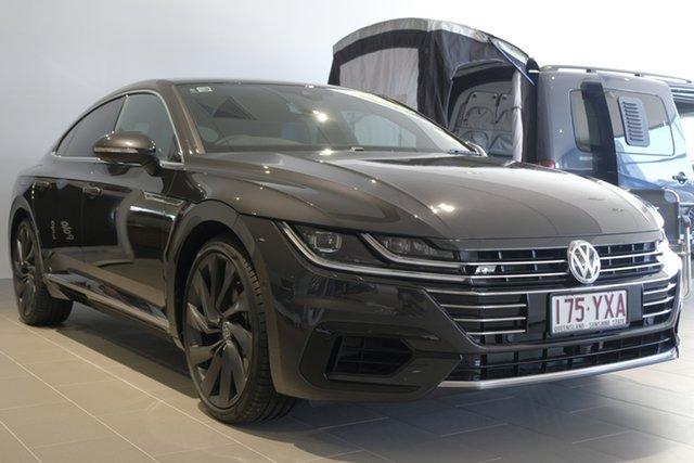 Demo Volkswagen Arteon 3H MY19 206TSI Sedan DSG 4MOTION R-Line, 2019 Volkswagen Arteon 3H MY19 206TSI Sedan DSG 4MOTION R-Line Manganese Grey 7 Speed