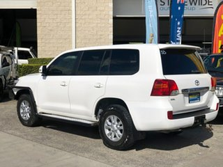 2014 Toyota Landcruiser VDJ200R MY13 GXL White 6 Speed Sports Automatic Wagon.
