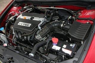 2012 Honda Accord Euro CU MY12 Red 5 Speed Automatic Sedan