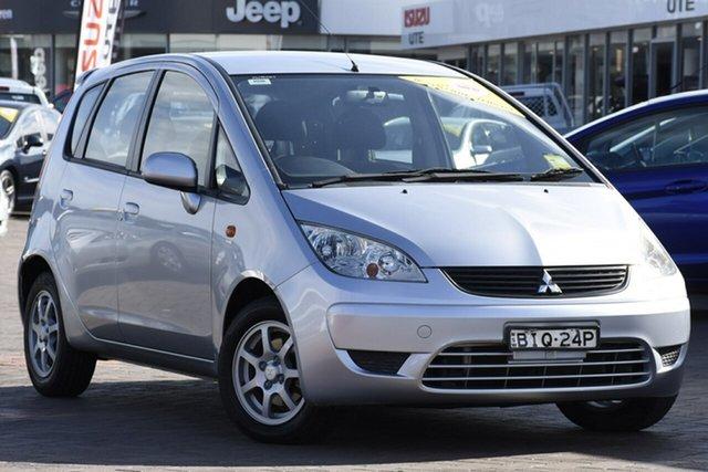 Used Mitsubishi Colt RG MY08 ES, 2008 Mitsubishi Colt RG MY08 ES Silver 1 Speed Constant Variable Hatchback