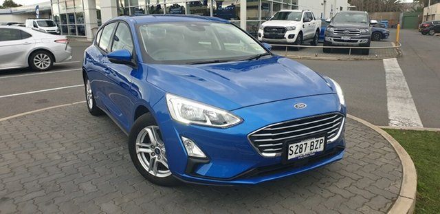 Demo Ford Focus SA 2019.25MY Trend, 2018 Ford Focus SA 2019.25MY Trend Desert Island Blue 8 Speed Automatic Hatchback