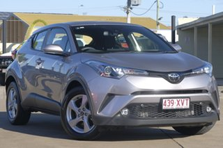 2018 Toyota C-HR NGX10R S-CVT 2WD Silver 7 Speed Constant Variable Wagon.