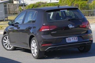 2018 Volkswagen Golf 7.5 MY19 110TSI DSG Comfortline Deep Black 7 Speed Sports Automatic Dual Clutch.