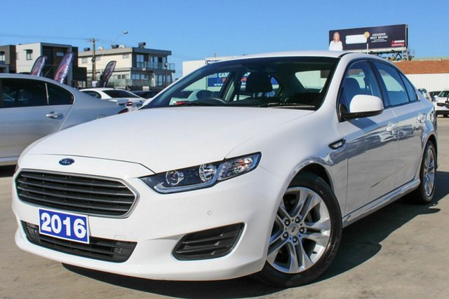 Used Ford Falcon FG X , 2016 Ford Falcon FG X White 6 Speed Sports Automatic Sedan