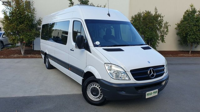 Used Mercedes-Benz Sprinter NCV3 MY08 Transfer Low Roof, 2008 Mercedes-Benz Sprinter NCV3 MY08 Transfer Low Roof White 5 Speed Automatic Bus