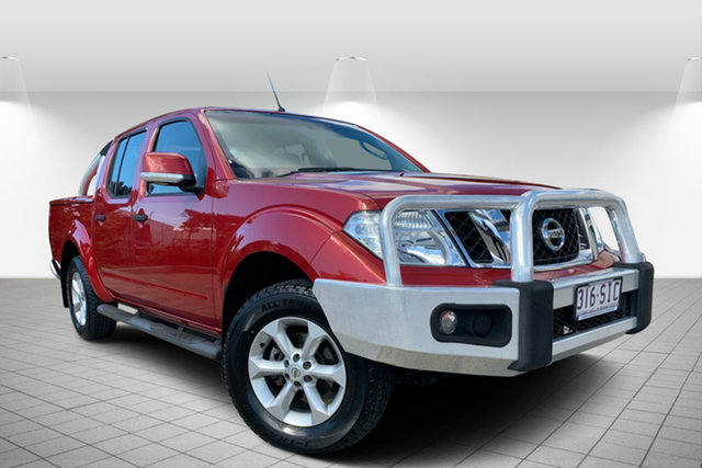 Used Nissan Navara D40 S6 MY12 ST, 2012 Nissan Navara D40 S6 MY12 ST Red 5 Speed Sports Automatic Utility
