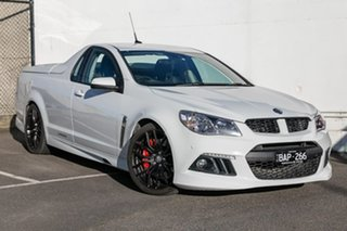 2014 Holden Special Vehicles Maloo Gen-F MY14 R8 White 6 Speed Sports Automatic Utility.