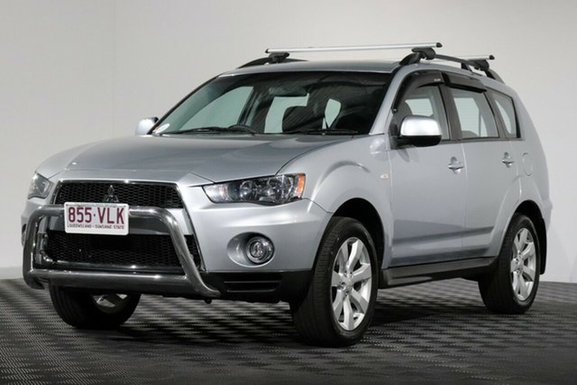 Used Mitsubishi Outlander ZH MY12 Activ 2WD, 2012 Mitsubishi Outlander ZH MY12 Activ 2WD Silver 6 Speed Constant Variable Wagon