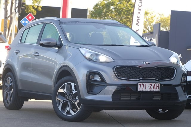Used Kia Sportage QL MY19 Si 2WD Premium, 2019 Kia Sportage QL MY19 Si 2WD Premium Steel Grey 6 Speed Sports Automatic Wagon