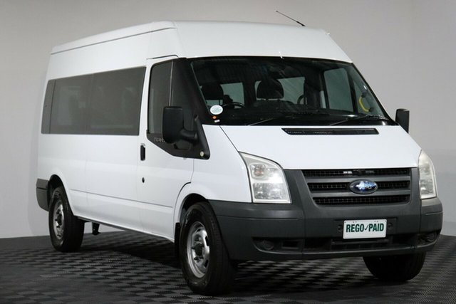 Used Ford Transit VM Mid Roof, 2010 Ford Transit VM Mid Roof White Bus
