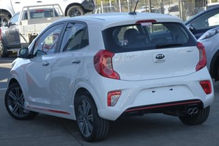 2019 Kia Picanto JA MY19 GT Clear White 5 Speed Manual Hatchback.