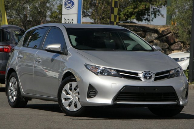 Used Toyota Corolla ZRE182R Ascent S-CVT, 2015 Toyota Corolla ZRE182R Ascent S-CVT Silver 7 Speed Constant Variable Hatchback