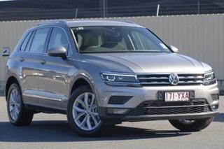 2018 Volkswagen Tiguan 5N MY19 132TSI DSG 4MOTION Comfortline Tungsten Silver 7 Speed.
