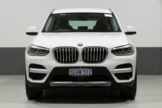 2018 BMW X3 G01 xDrive 30I White 8 Speed Automatic Wagon.
