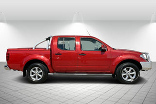2012 Nissan Navara D40 S6 MY12 ST Red 5 Speed Sports Automatic Utility.