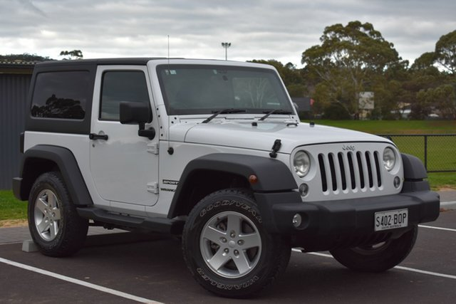 Used Jeep Wrangler JK MY2014 Sport, 2014 Jeep Wrangler JK MY2014 Sport White 5 Speed Automatic Softtop