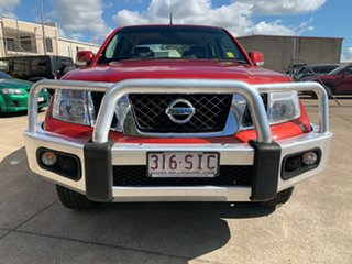 2012 Nissan Navara D40 S6 MY12 ST Red 5 Speed Sports Automatic Utility