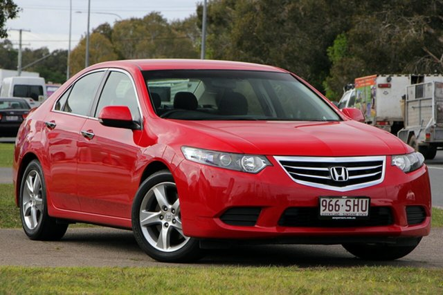 Used Honda Accord Euro CU MY12 , 2012 Honda Accord Euro CU MY12 Red 5 Speed Automatic Sedan