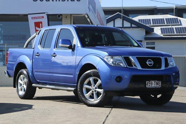Used Nissan Navara D40 S6 MY12 ST, 2013 Nissan Navara D40 S6 MY12 ST Blue 6 Speed Manual Utility