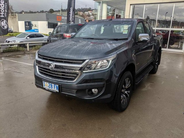 Demo Holden Colorado RG MY19 LTZ Pickup Space Cab, 2019 Holden Colorado RG MY19 LTZ Pickup Space Cab Dark Shadow 6 Speed Sports Automatic Utility