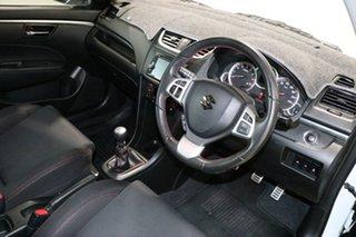 2014 Suzuki Swift FZ MY14 Sport White 6 Speed Manual Hatchback