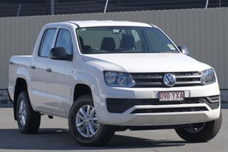 2018 Volkswagen Amarok 2H MY19 TDI400 4MOT Core Candy White 6 Speed Manual Utility.