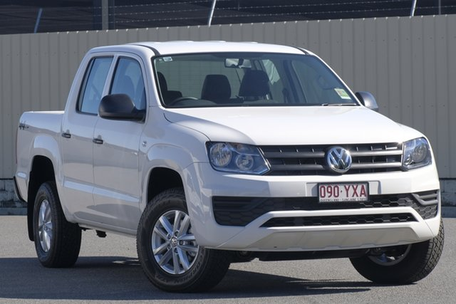 Demo Volkswagen Amarok 2H MY19 TDI400 4MOT Core, 2018 Volkswagen Amarok 2H MY19 TDI400 4MOT Core Candy White 6 Speed Manual Utility