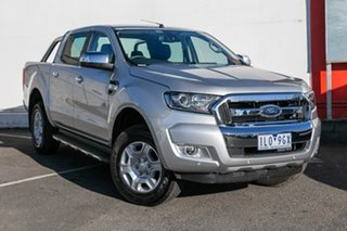 2018 Ford Ranger PX MkII 2018.00MY XLT Double Cab 4x2 Hi-Rider Silver 6 Speed Sports Automatic.