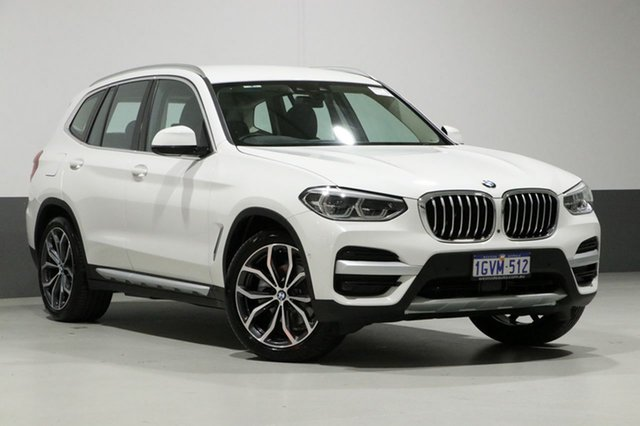 Used BMW X3 G01 xDrive 30I, 2018 BMW X3 G01 xDrive 30I White 8 Speed Automatic Wagon