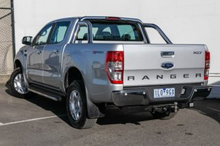 2018 Ford Ranger PX MkII 2018.00MY XLT Double Cab 4x2 Hi-Rider Silver 6 Speed Sports Automatic