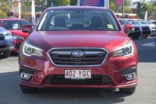 2018 Subaru Liberty B6 MY18 2.5i CVT AWD Premium Crimson Red 6 Speed Constant Variable Sedan