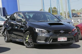 2018 Subaru WRX V1 MY18 STI AWD Premium Crystal Black Silica 6 Speed Manual Sedan.